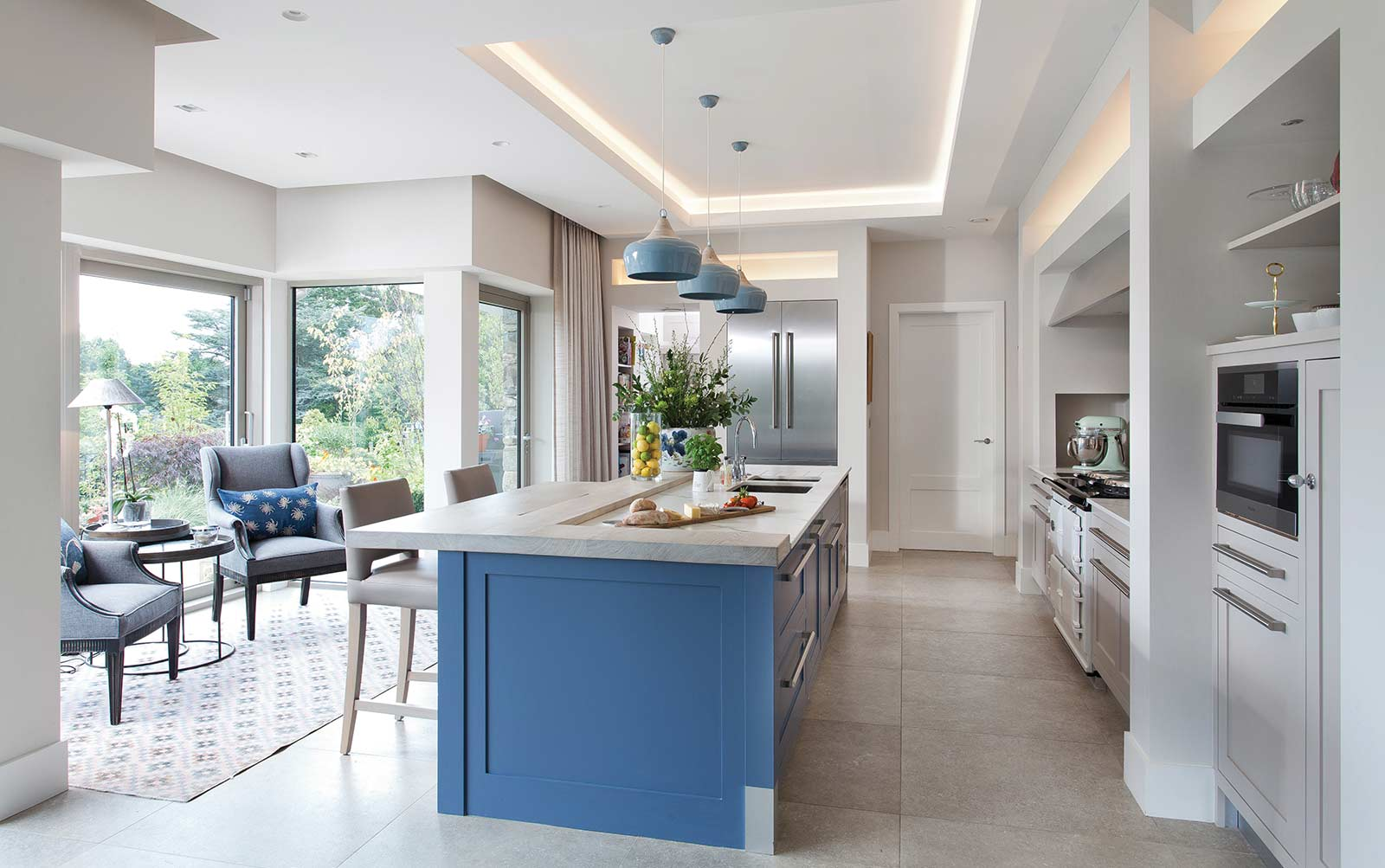 North Down coastal home kitchen design by Thompson Clarke