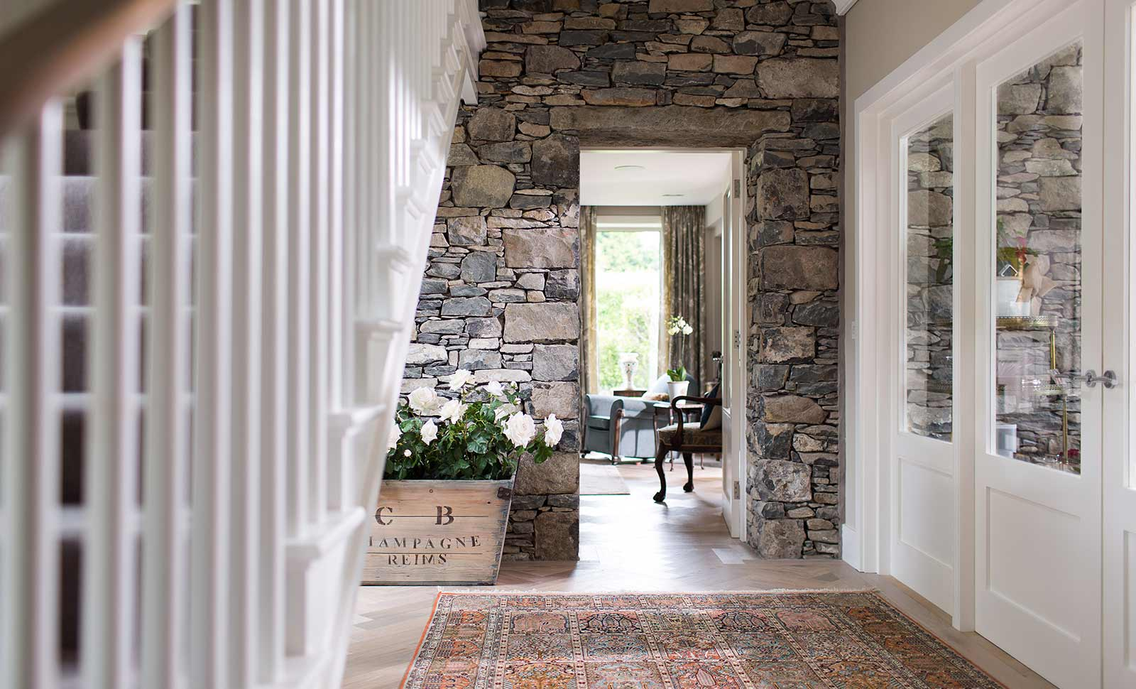North Down Coastal Home hallway