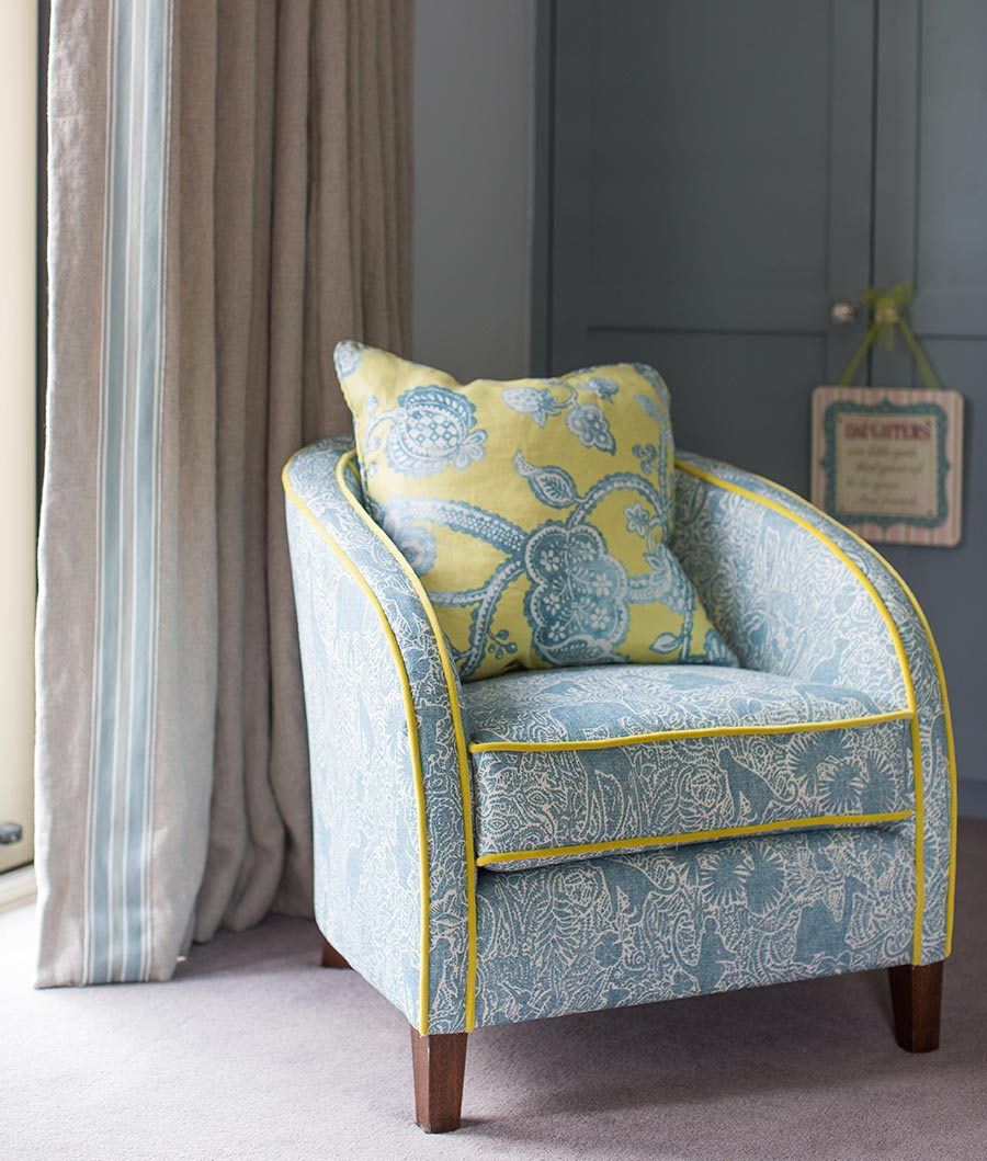 North Down Coastal Home bedroom chair