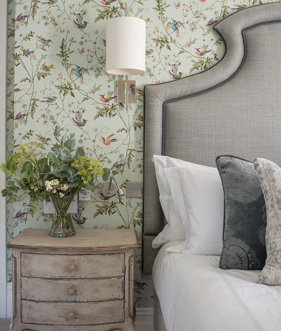 North Down Manor House bedroom night stand