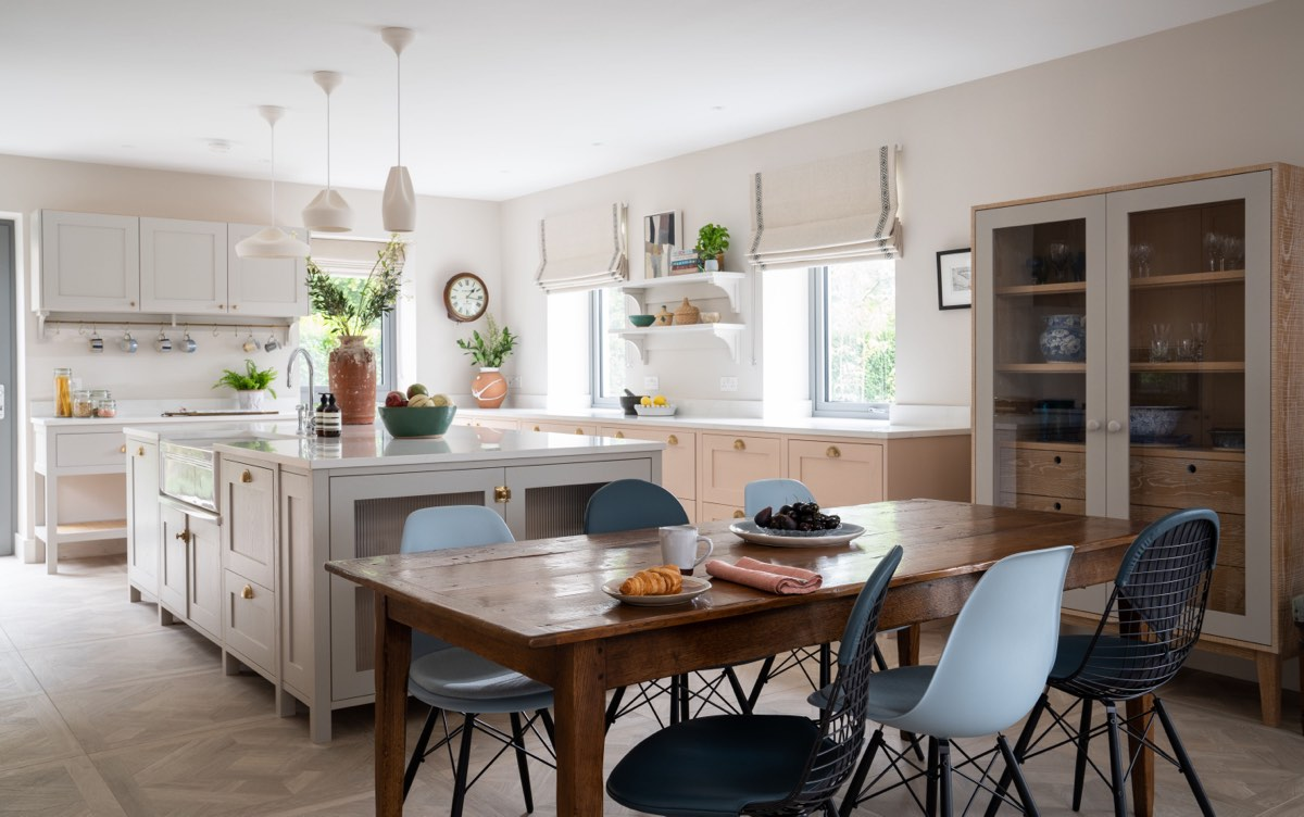 Seaside Retreat kitchen