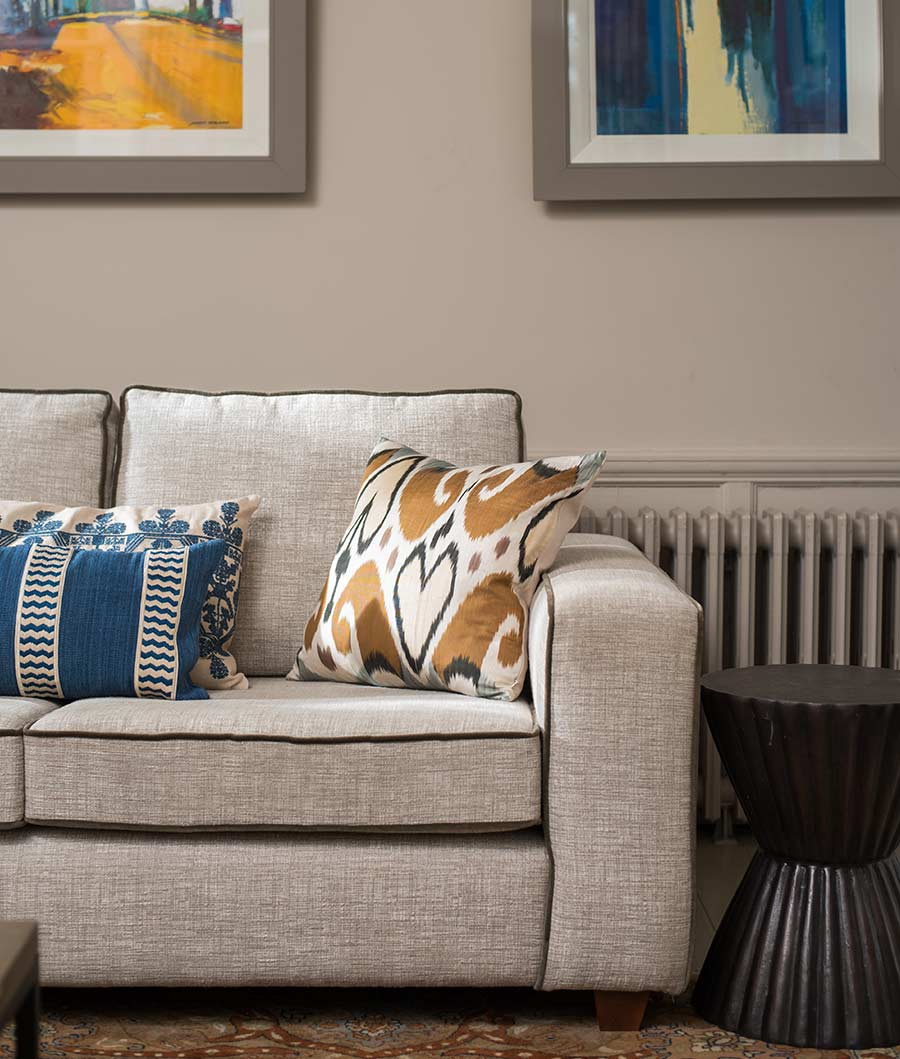Belfast townhouse drawing room sofa