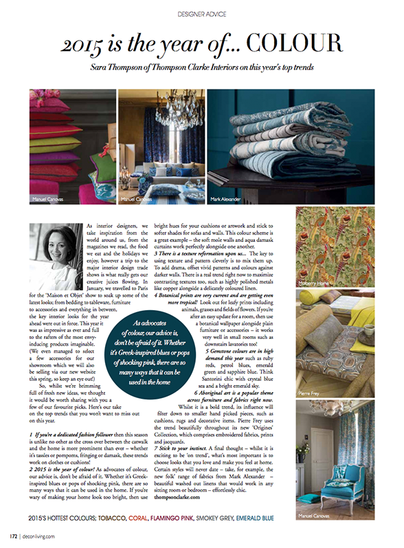 Decor Magazine March 2015