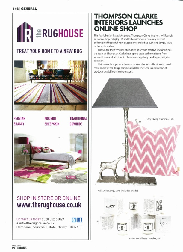 NI Homes & Interiors - February 2015 issue