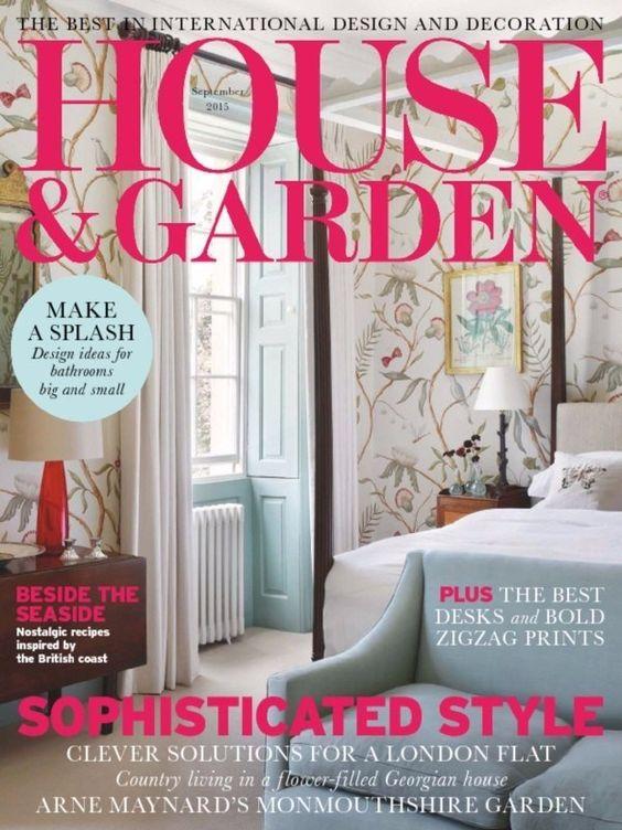 House & Garden September 2015 Cover