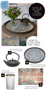 Style The Look/ Notre Monde Tray Table