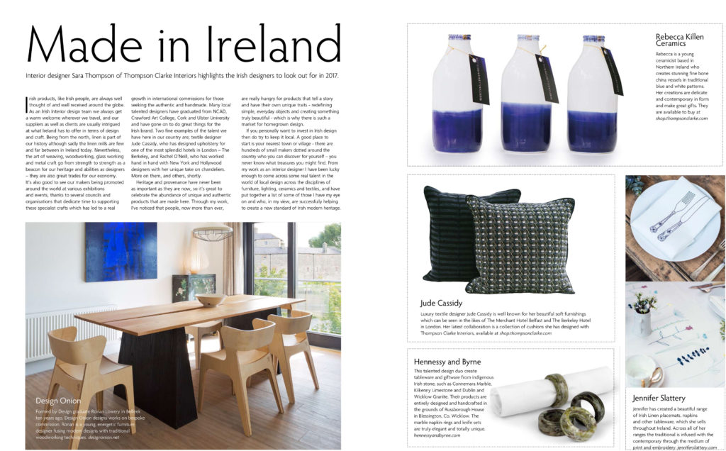 Irelands Homes Interiors and Living December 2016