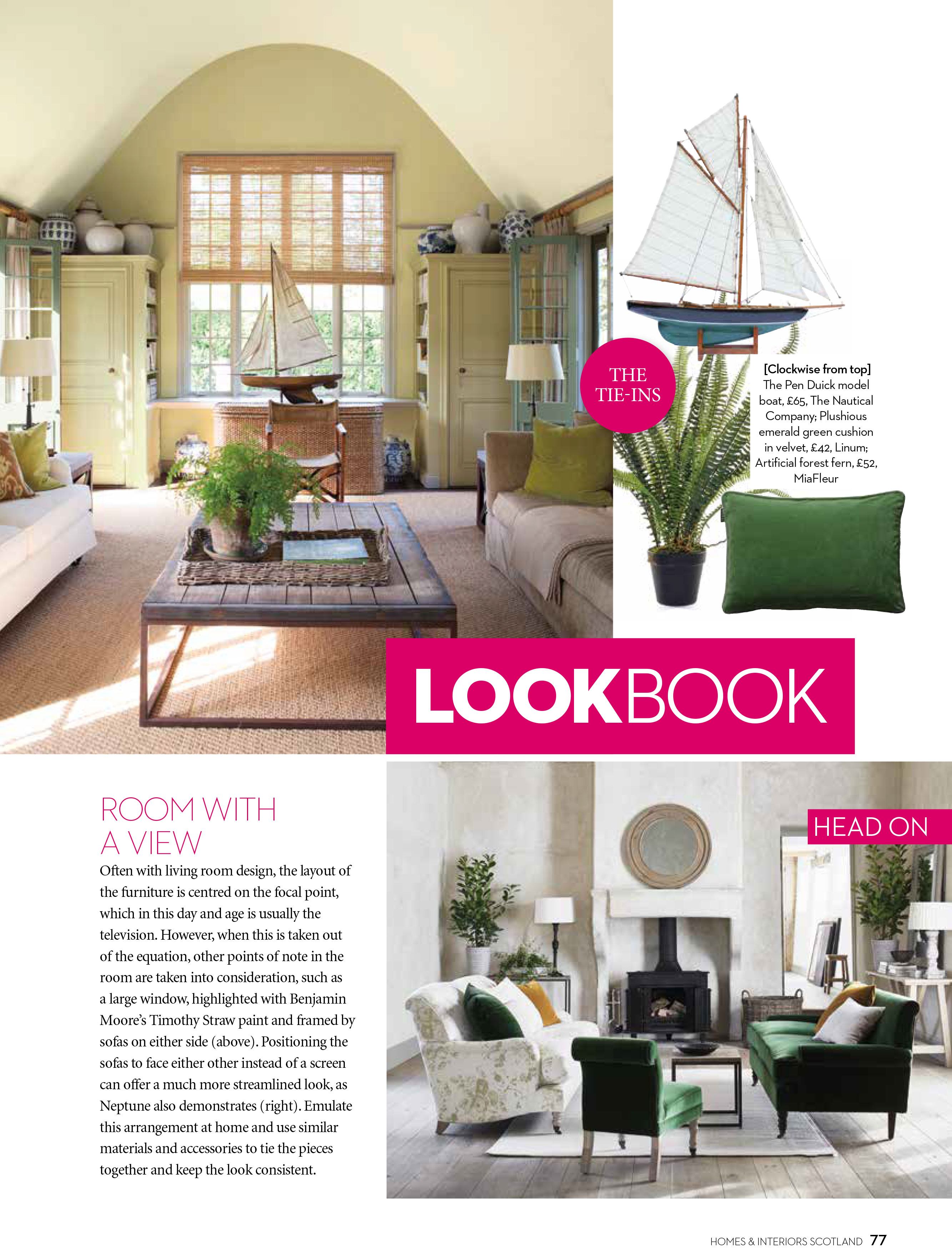 Scotland 39 S Homes And Interiors September October 2017