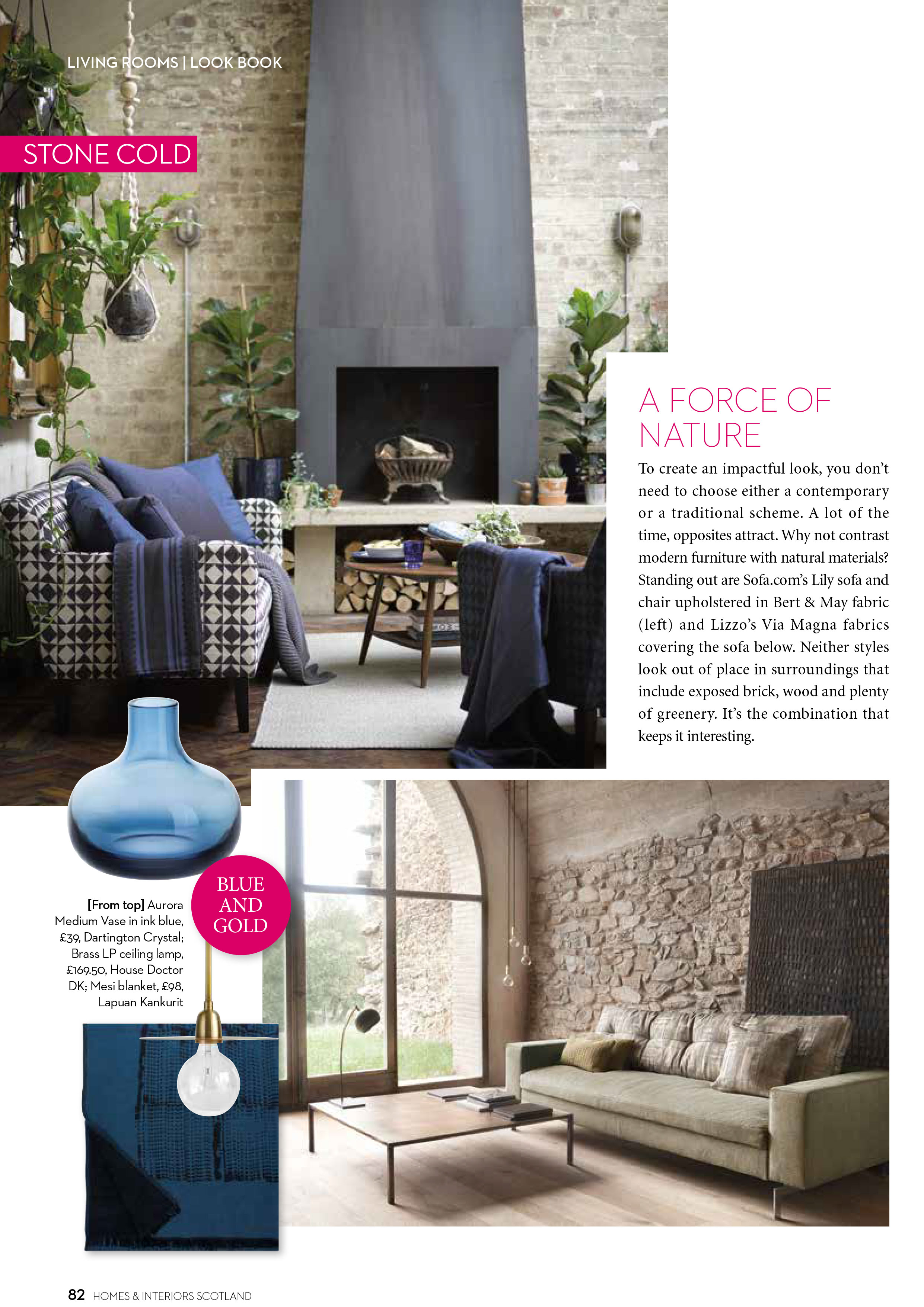 homes and interiors. Delighted to be part of the September October issue Scotland s Homes and  Interiors Magazine 2017 Thompson