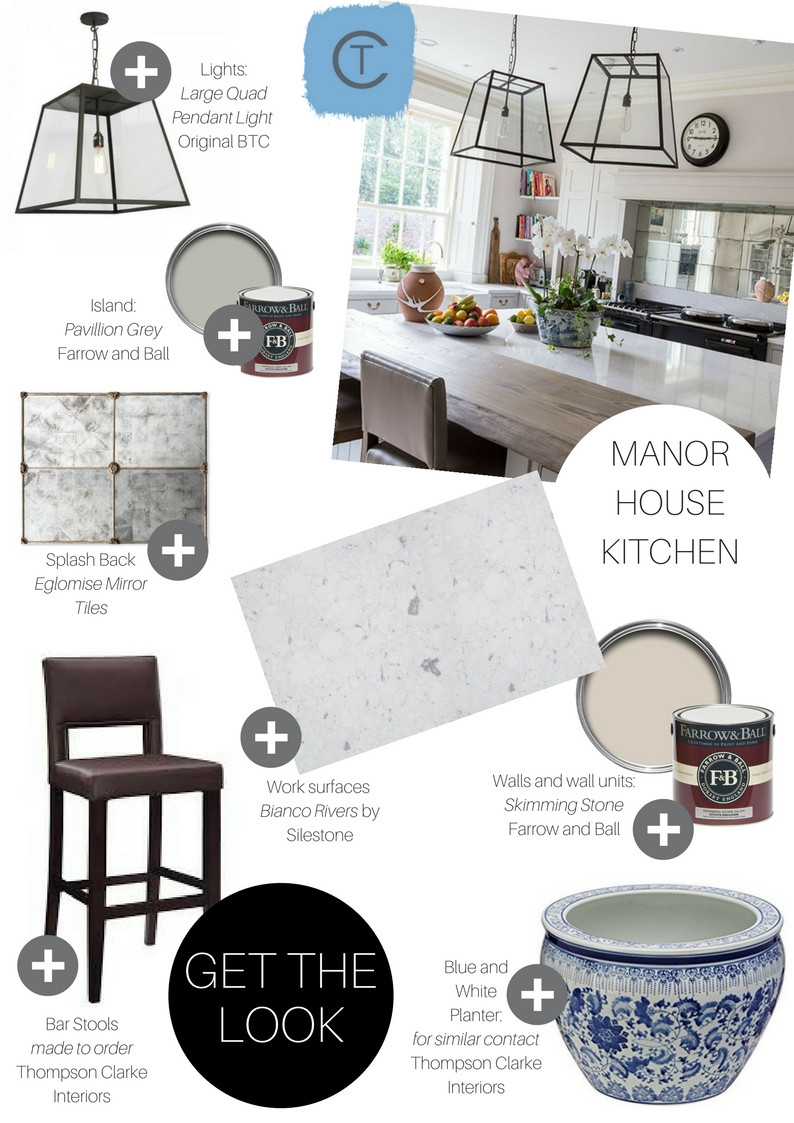 Get the Look Manor House Kitchen