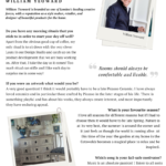 Behind The Designs/ 10 Questions with William Yeoward