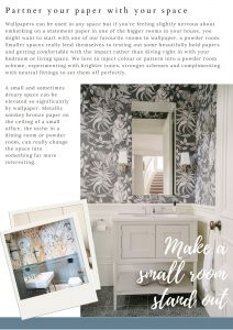Make a small space special