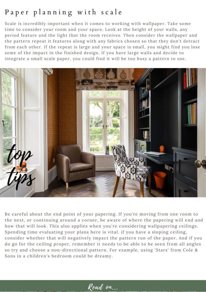 Top wallpaper tips